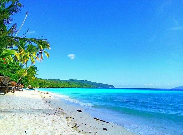 Pantai Ciantir Sawarna, via instagram